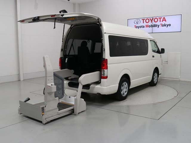 トヨタ DX フクシシャリョウ 福祉車両 3列シート 記録簿 乗車定員10人 盗難防止装置 キーレス