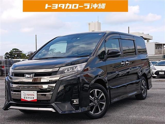 沖縄の中古車 トヨタ ノア 車両価格 267万円 リ済別 2019(令和1)年 0.6万km クロ