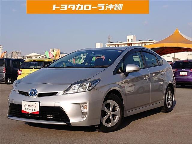 沖縄の中古車 トヨタ プリウス 車両価格 105万円 リ済別 2014(平成26)年 5.3万km シルバー