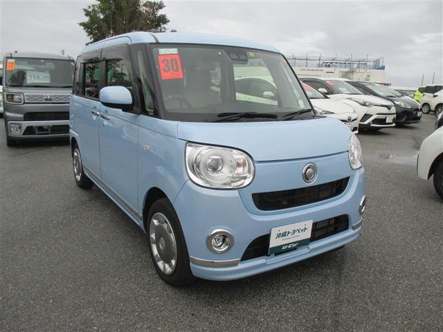 沖縄県の中古車ならムーヴキャンバス Gメイクアップ SAIII 両側電動スライド 記録簿