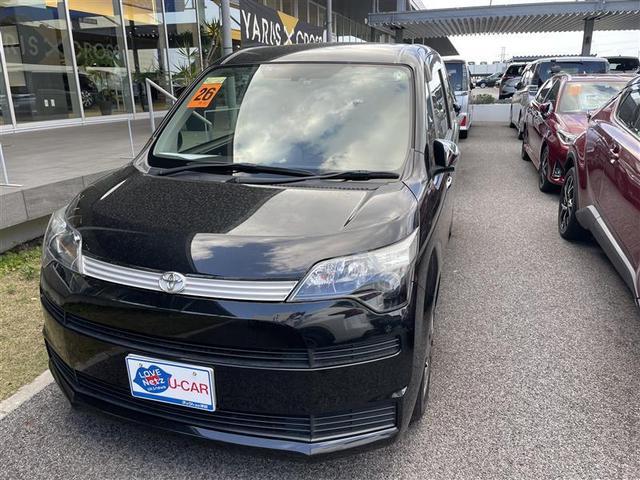 沖縄の中古車 トヨタ スペイド 車両価格 59.4万円 リ済別 2014(平成26)年 6.3万km クロ