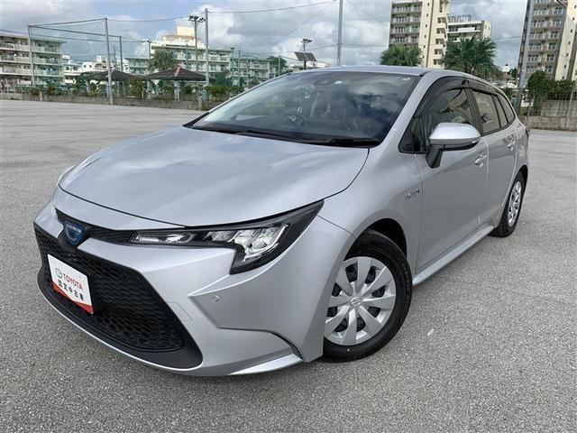 沖縄の中古車 トヨタ カローラツーリング 車両価格 218.9万円 リ済別 2020(令和2)年 0.2万km シルバーM