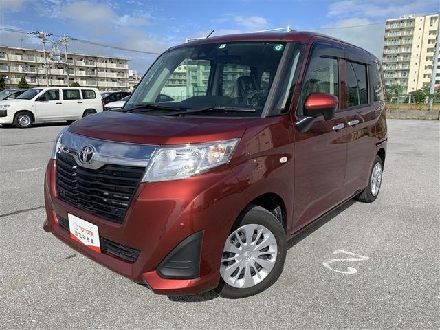 沖縄の中古車 トヨタ ルーミー 車両価格 149.6万円 リ済別 2020(令和2)年 0.6万km ファイアークォーツレッドメタリック