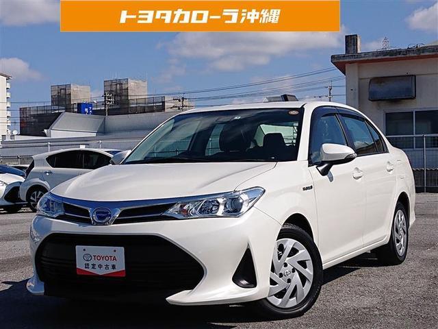 沖縄の中古車 トヨタ カローラアクシオ 車両価格 189.4万円 リ済別 2018(平成30)年 1.3万km パールマイカ