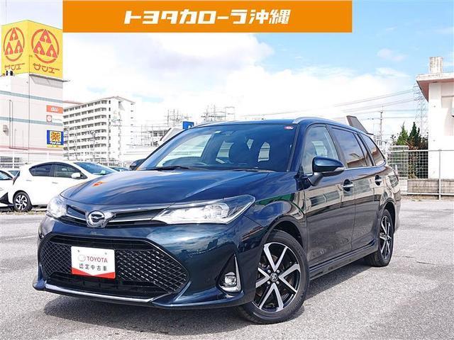 沖縄の中古車 トヨタ カローラフィールダー 車両価格 126万円 リ済別 2018(平成30)年 2.5万km ソノタ