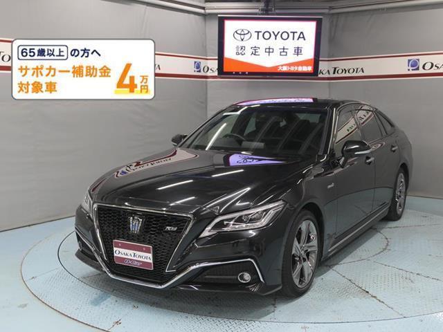 トヨタ RS Tコネクトナビ DVD再生 ミュージックプレイヤー接続可 バックカメラ 衝突被害軽減システム ETC LEDヘッドランプ