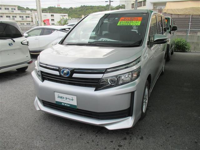 沖縄の中古車 トヨタ ヴォクシー 車両価格 189万円 リ済別 2016(平成28)年 6.2万km シルバー