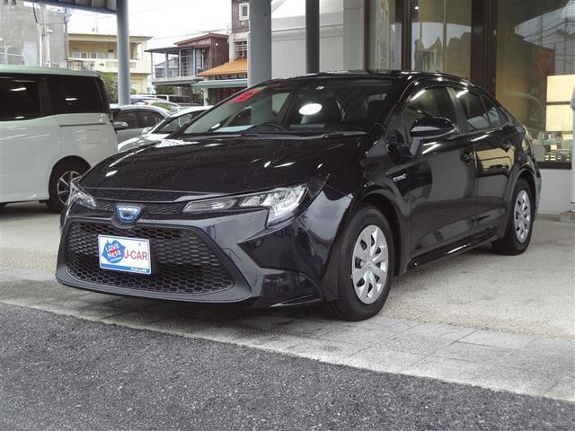 沖縄の中古車 トヨタ カローラ 車両価格 220万円 リ済別 2020(令和2)年 0.3万km クロ