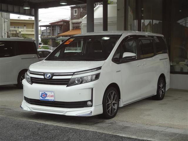 沖縄の中古車 トヨタ ヴォクシー 車両価格 148.5万円 リ済別 2014(平成26)年 11.6万km パールマイカ
