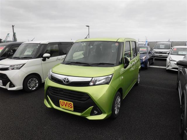 沖縄の中古車 トヨタ タンク 車両価格 89万円 リ済別 2017(平成29)年 5.0万km ミドリ
