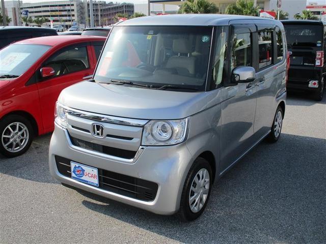 沖縄の中古車 ホンダ N-BOX 車両価格 121万円 リ済別 2018(平成30)年 1.7万km シルバー