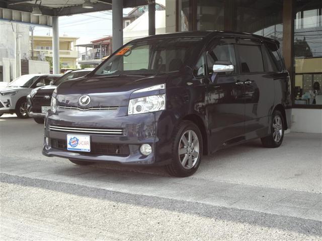 沖縄の中古車 トヨタ ヴォクシー 車両価格 59.4万円 リ済別 2009(平成21)年 9.1万km ムラサキ
