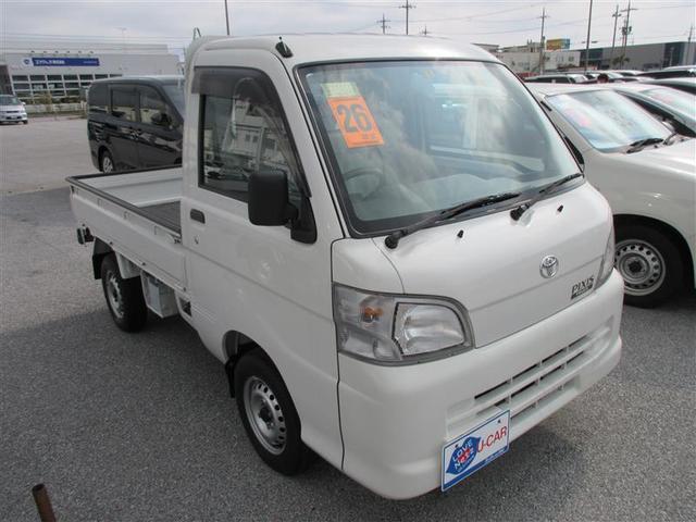 沖縄の中古車 トヨタ ピクシストラック 車両価格 69.3万円 リ済別 2014(平成26)年 0.8万km シロ