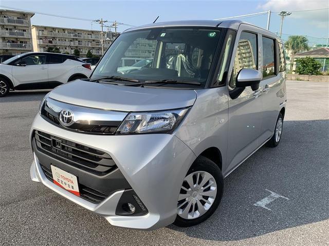 沖縄の中古車 トヨタ タンク 車両価格 121万円 リ済別 2018(平成30)年 3.3万km ブライトシルバーM