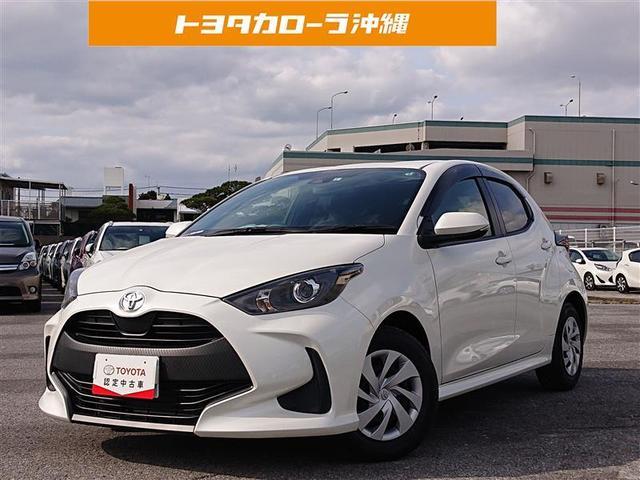 沖縄の中古車 トヨタ ヤリス 車両価格 157万円 リ済別 2020(令和2)年 0.3万km パールマイカ