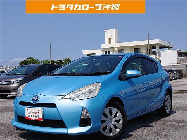 沖縄の中古車 トヨタ アクア 車両価格 86万円 リ済別 2012(平成24)年 6.3万km アオ