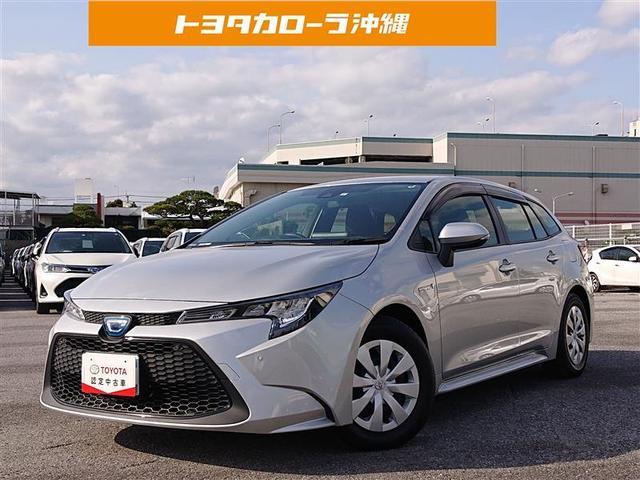 沖縄の中古車 トヨタ カローラツーリング 車両価格 200万円 リ済別 2020(令和2)年 0.3万km シルバー