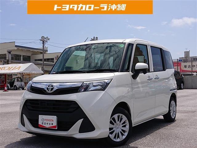 沖縄の中古車 トヨタ タンク 車両価格 149万円 リ済別 2018(平成30)年 2.3万km パールマイカ