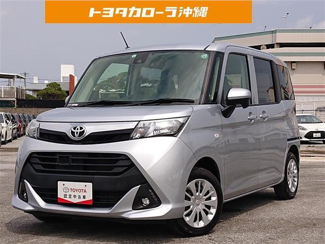 沖縄の中古車 トヨタ タンク 車両価格 115万円 リ済別 2018(平成30)年 4.0万km シルバー