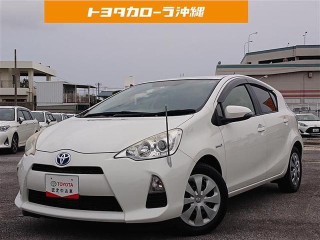 沖縄の中古車 トヨタ アクア 車両価格 59万円 リ済別 2012(平成24)年 7.1万km シロ