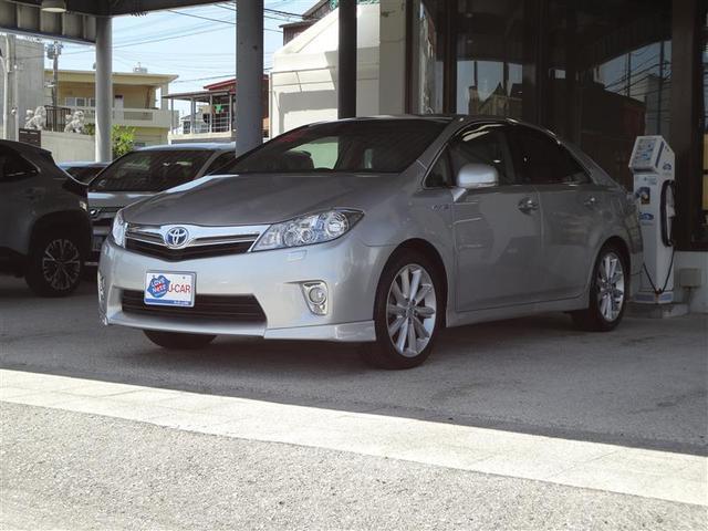 沖縄の中古車 トヨタ SAI 車両価格 88万円 リ済別 2011(平成23)年 10.9万km シルバー
