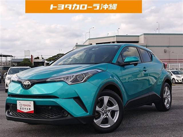 沖縄の中古車 トヨタ C-HR 車両価格 165万円 リ済別 2017(平成29)年 4.5万km ミドリ