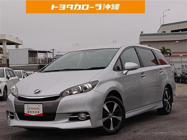 沖縄県の中古車ならウィッシュ 1.8S ワンセグ メモリーナビ バックカメラ ETC HIDヘッドライト 乗車定員7人 3列シート 記録簿