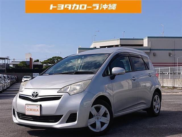 沖縄の中古車 トヨタ ラクティス 車両価格 49万円 リ済別 2013(平成25)年 9.9万km シルバーM