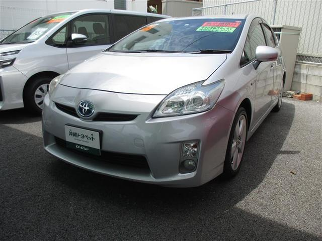 沖縄の中古車 トヨタ プリウス 車両価格 49万円 リ済別 2010(平成22)年 9.5万km シルバー