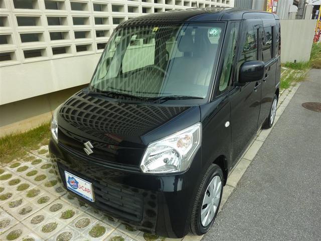 沖縄の中古車 スズキ スペーシア 車両価格 77万円 リ済別 2013(平成25)年 4.4万km クロ