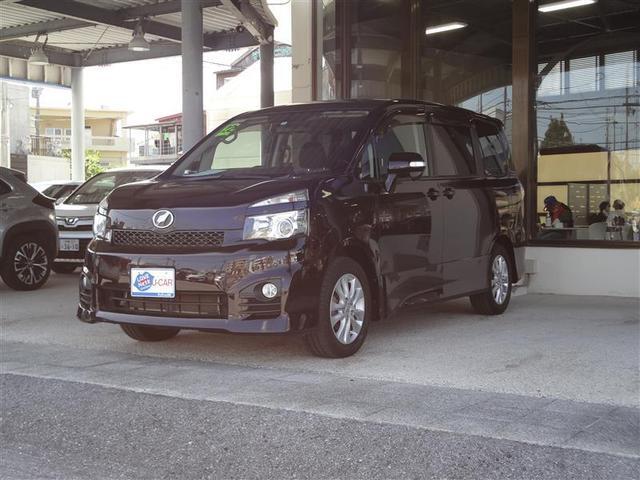 沖縄県の中古車ならヴォクシー ZS ワンセグ DVDナビ バックカメラ ETC 電動スライドドア HIDヘッドライト ウオークスルー 乗車定員8人 3列シート 記録簿