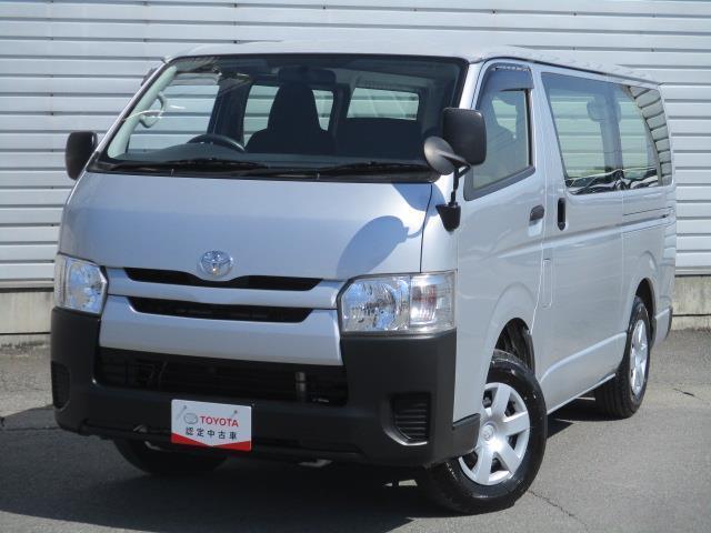 トヨタ レジアスエースバン ロングDX 4WD ワンセグ メモリーナビ ミュージックプレイヤー接続可 ETC ディーゼル