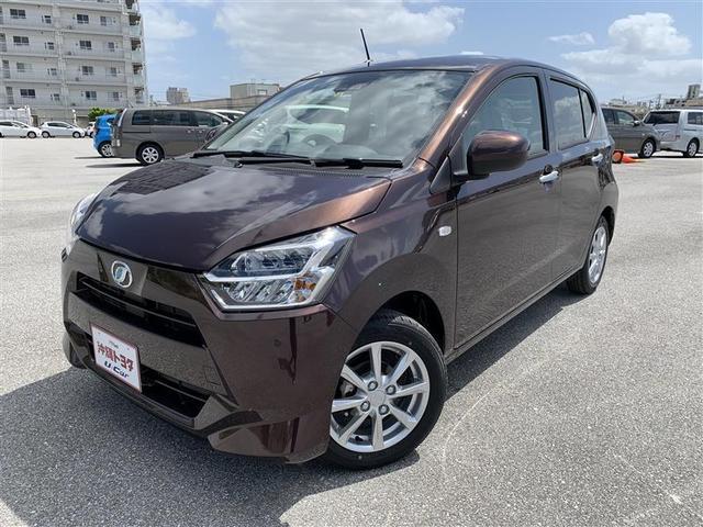 沖縄の中古車 ダイハツ ミライース 車両価格 110万円 リ済別 2020(令和2)年 6km プラムブラウンパールCS