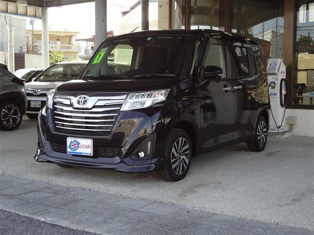 沖縄の中古車 トヨタ ルーミー 車両価格 176万円 リ済別 2019(令和1)年 2.1万km クロ