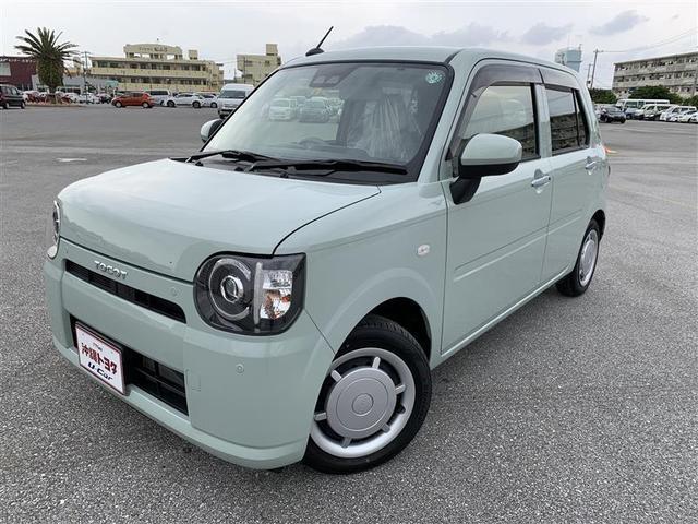 ミラトコット(沖縄 中古車) 色:グリーン 価格:110万円 年式:2020(令和2)年 走行距離:0.3万km