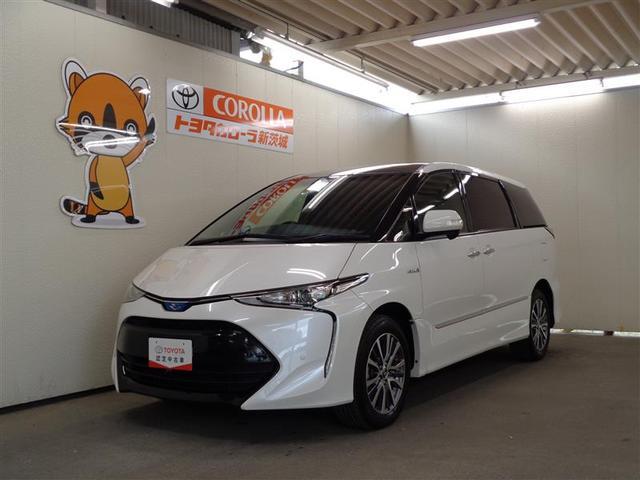 エスティマハイブリッド(トヨタ) アエラス プレミアム 4WD フルセグ メモリーナビ DVD再生 ミュージックプレイヤー接続可 中古車画像