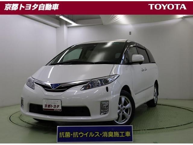 トヨタ X 4WD フルセグ HDDナビ DVD再生 バックカメラ ETC 電動スライドドア HIDヘッドライト 乗車定員8人 3列シート 記録簿