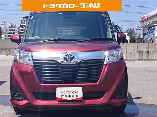 沖縄県糸満市の中古車ならルーミー X S バックカメラ 衝突被害軽減システム ETC 電動スライドドア 記録簿