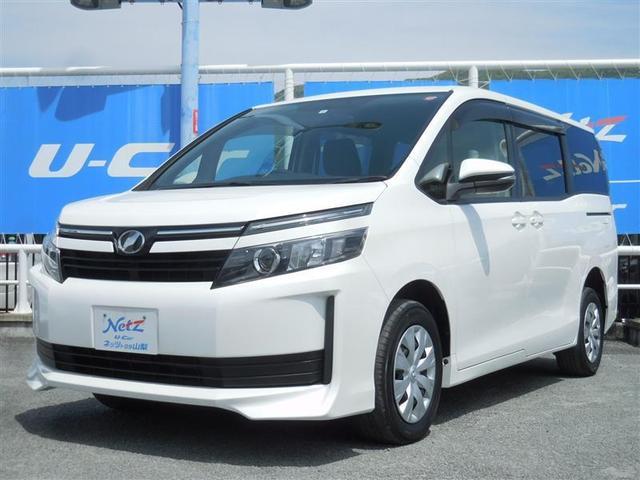 トヨタ ヴォクシー X 4WD ETC 電動スライドドア LEDヘッドランプ 乗車定員8人 3列シート アイドリングストップ