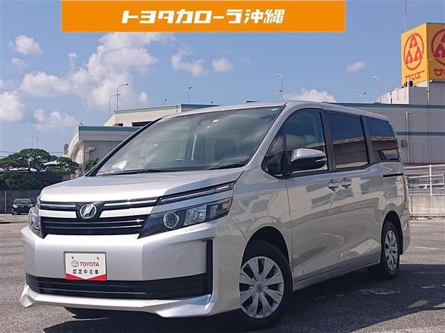 沖縄の中古車 トヨタ ヴォクシー 車両価格 165万円 リ済別 2017(平成29)年 5.8万km シルバー