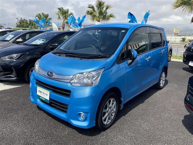 沖縄の中古車 スバル ステラ 車両価格 39.8万円 リ済別 2011(平成23)年 7.1万km アオ
