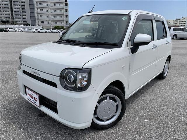 沖縄の中古車 ダイハツ ミラトコット 車両価格 104.5万円 リ済別 2020(令和2)年 0.4万km パールホワイト3