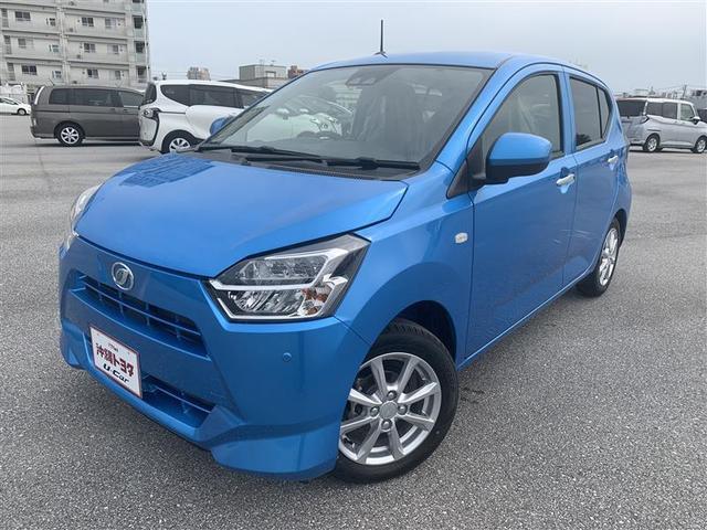 ミライース(沖縄 中古車) 色:スプラッシュブルーメタリック 価格:110万円 年式:2020(令和2)年 走行距離:6km