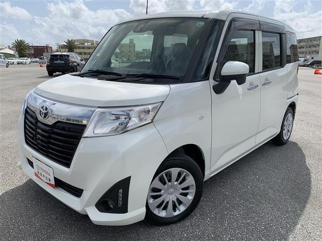 沖縄の中古車 トヨタ ルーミー 車両価格 126.5万円 リ済別 2018(平成30)年 5.0万km パールホワイト3