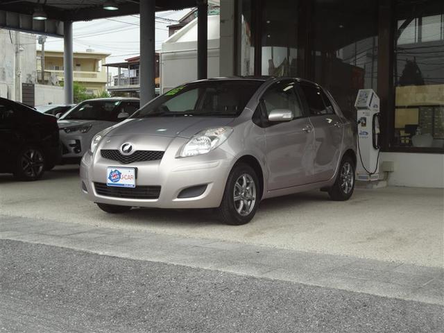 沖縄の中古車 トヨタ ヴィッツ 車両価格 38.5万円 リ済別 2010(平成22)年 4.8万km ピンク