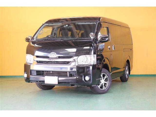 トヨタ GL ロング 4WD フルセグ DVD再生 バックカメラ ETC 電動スライドドア LEDヘッドランプ 乗車定員10人 3列シート ワンオーナー