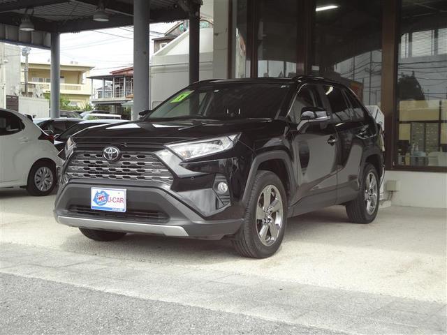 沖縄の中古車 トヨタ RAV4 車両価格 299.2万円 リ済別 2019(令和1)年 2.5万km クロ