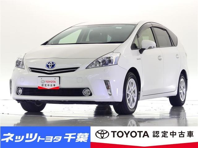 トヨタ プリウスアルファ S HDDナビ/フルセグ/バックカメラ/ETC/LEDヘッドライト/スマートキー/タイヤ4本交換