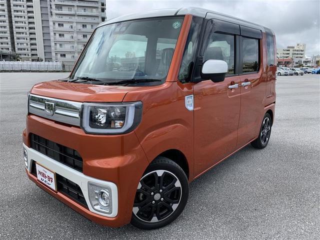 ウェイク(沖縄 中古車) 色:パールホワイト3/トニコオレンジM 価格:159.5万円 年式:2020(令和2)年 走行距離:0.3万km