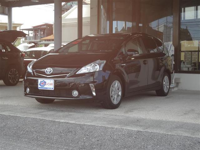 沖縄の中古車 トヨタ プリウスα 車両価格 126.5万円 リ済別 2013(平成25)年 4.7万km クロ